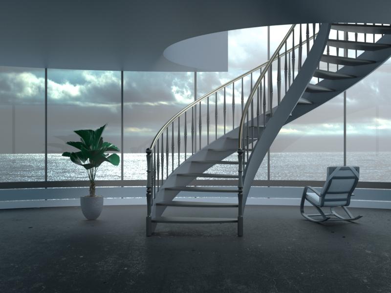 Stay Grey iran tehran decoration interior webdesign homepage ux ui branding redshift dribbble concept art direction modeling c4d illustration 3d