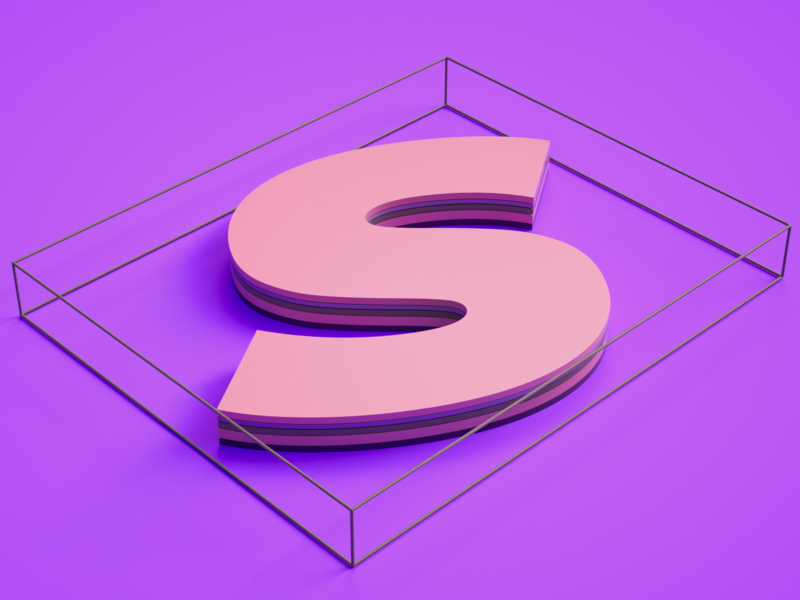 Sir c4d iran tehran ui typography branding concept dribbble art direction octane modeling illustration 3d