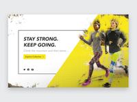 Fitness Banner (Bright Grunge)