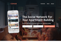 Cohab Landing Page