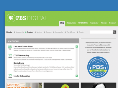 Digital Blog Redesign