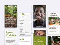 World Cocoa Foundation - Mobiles