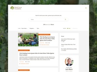 World Cocoa Foundation Search page