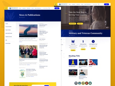 IWP Interior Pages military veterans publications news higher education government politics statecraft education website school education responsive landing web design ui ux