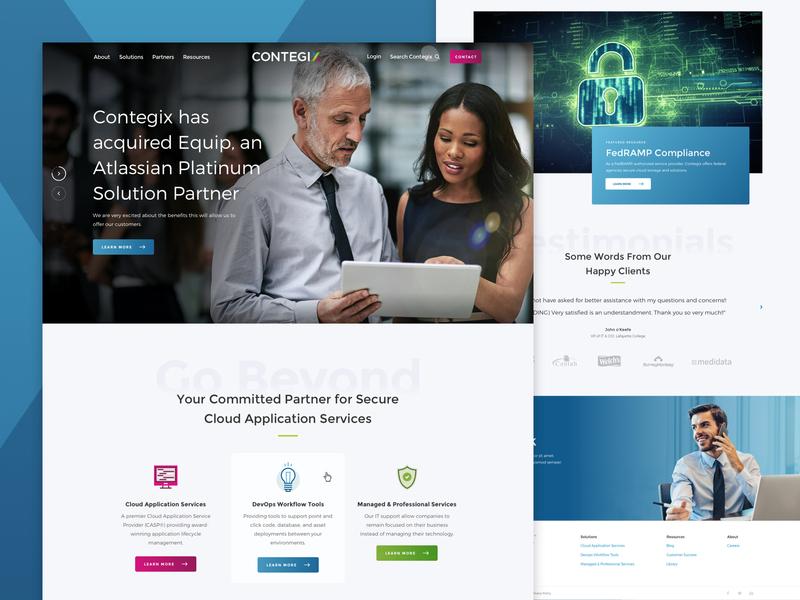 Contegix Homepage