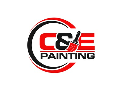 Painting Logo logo designs logos painting logo illustration printing vector logo printing design adobe photoshop adobe illustrator cc adobe illustrator logo design