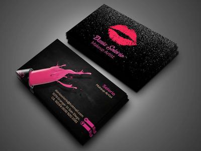 Makeup Company Business Card