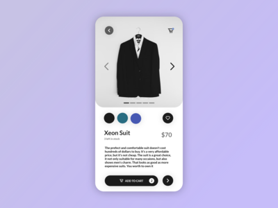 E-commerce Shop Item