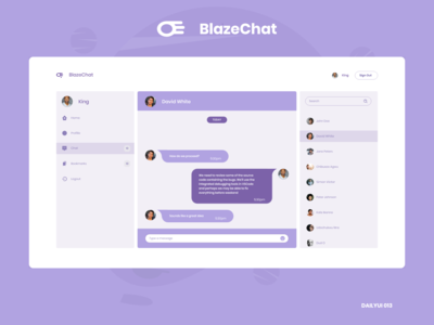 BlazeChat: Direct Messaging