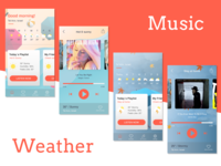 When Music and Weather Meet