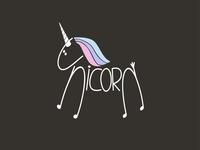 Unicorn Logo Concept