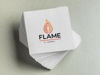 Flame Logo for #dailylogochallenge