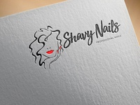 Shavy Nails Logo Design