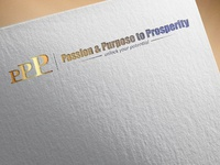 Passion   Purpose To Prosperity  Logo Design