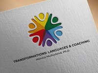 Transformations: Language & Coachin Logo Design