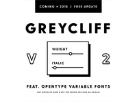 Coming soon to Greycliff: variable fonts