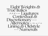 Roxborough CF typeface