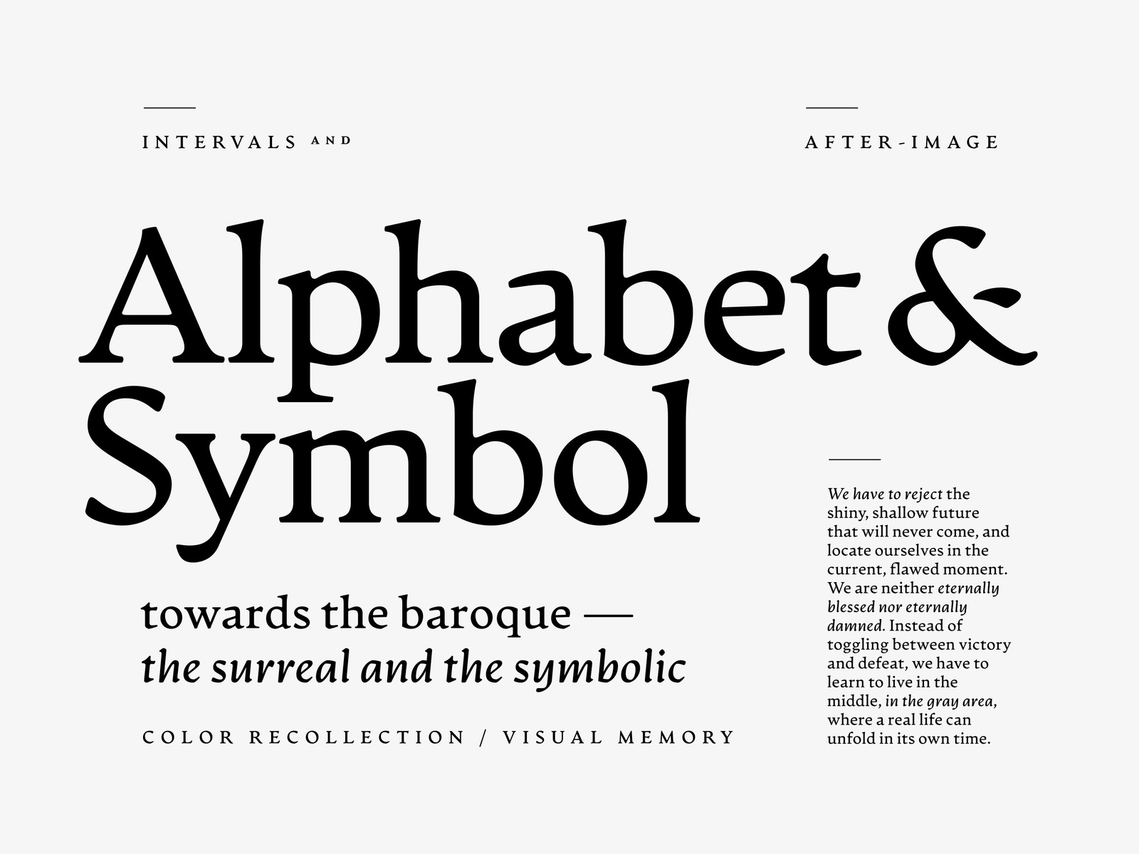 Artifex Cf Serif Font Family By Connary On Dribbble