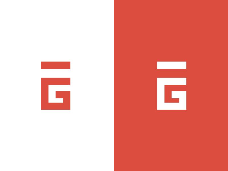 Personal Logo logo icon branding personal red