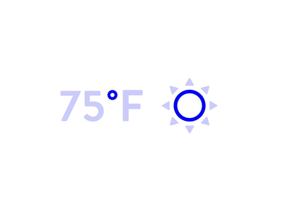 Weather Icon ☀️🌙 animation ui free gif icon icon set weather temperature lottie sun moon summer