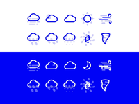 Premium Weather Icon Set
