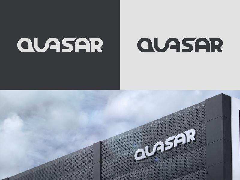 """Quasar"" - Daily Logo Challenge"