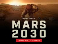 Mars 2030 VR Simulation