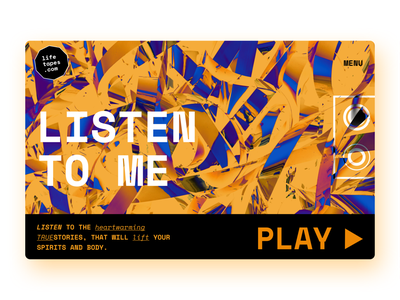 Soul Tapes - Motivation Website modern illustrations typographic 2d 3d podcasting audiotape lifestyle brand mood typography art typogaphy website design motivational vhs retro font retro design podcast tapes retro