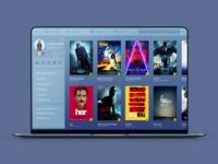 Dashboard For Movie Website