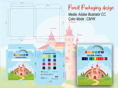 Packaging Design adobe illustrator photoshop packaging mockup packet pencil packet pencil pencil case packaging designer product packaging design