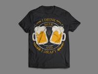 Beer T-shirt Design