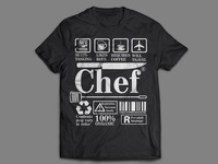 Chef T-shirt Design