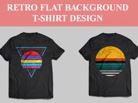Retro Background T-shirt