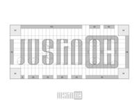 Justin Oh Logo Grid