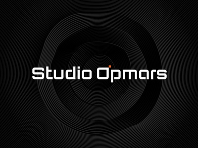 Studio Opmars brand monogram minimal identity design branding logo typography lettering type