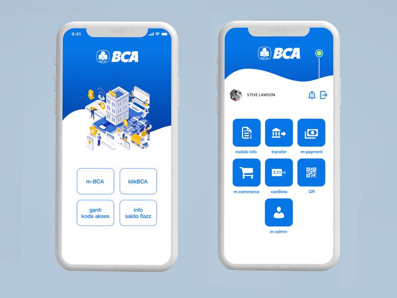Re-Design BCA Mobile Banking (Unofficial)