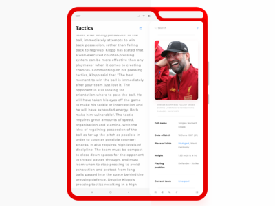 Wikipedia Design Concept on a Galaxy Fold - Daily #7