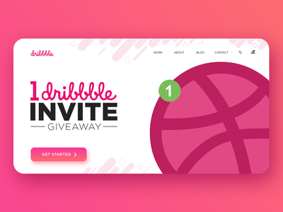 1 Dribble Invites Giveaway