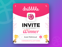 Dribbble Invite Winner