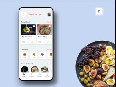 food App Concept UI