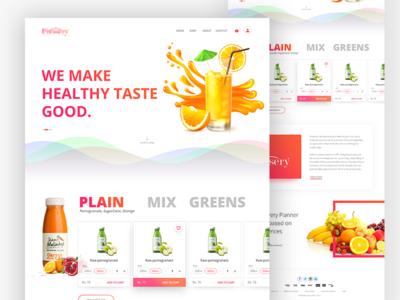 Online juice shop