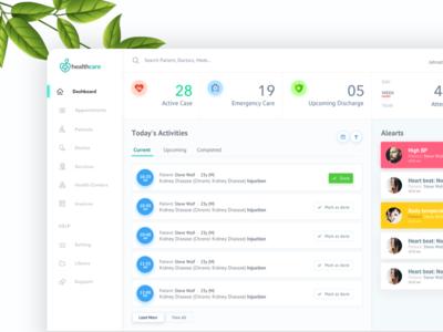 Health Dashboard user experience ux clean listing mobile app dashboad health dashboard