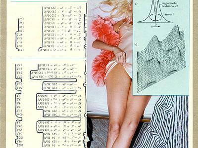 Glyphs cutandpaste collage