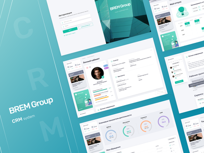 CRM Corporate Portal animation mobile ios website adaptive crm software crm ux ui design app