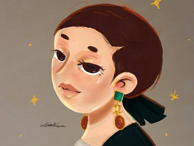 Kim Go Eun illustration
