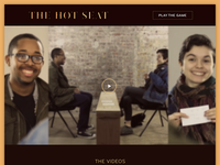 The Hot Seat Website WIP