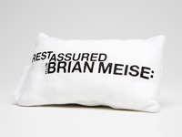 Self Promotional Mini Pillow (Front)