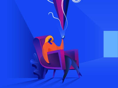 Insight symbolic vector concept design colors character design illustration conceptual illustration