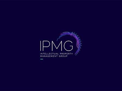 Intellectual Property Management Group (IPMG) Logo tristanvogt tristan ipmg sound waves soundwave brand logo