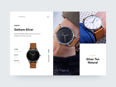 mvmt watches large branding watches watch userinterface webdesign aycdesigner